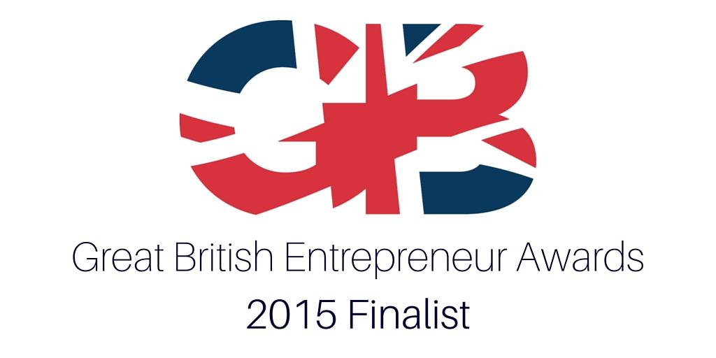 Great British Entrepreneur Awards 2015 Finalist