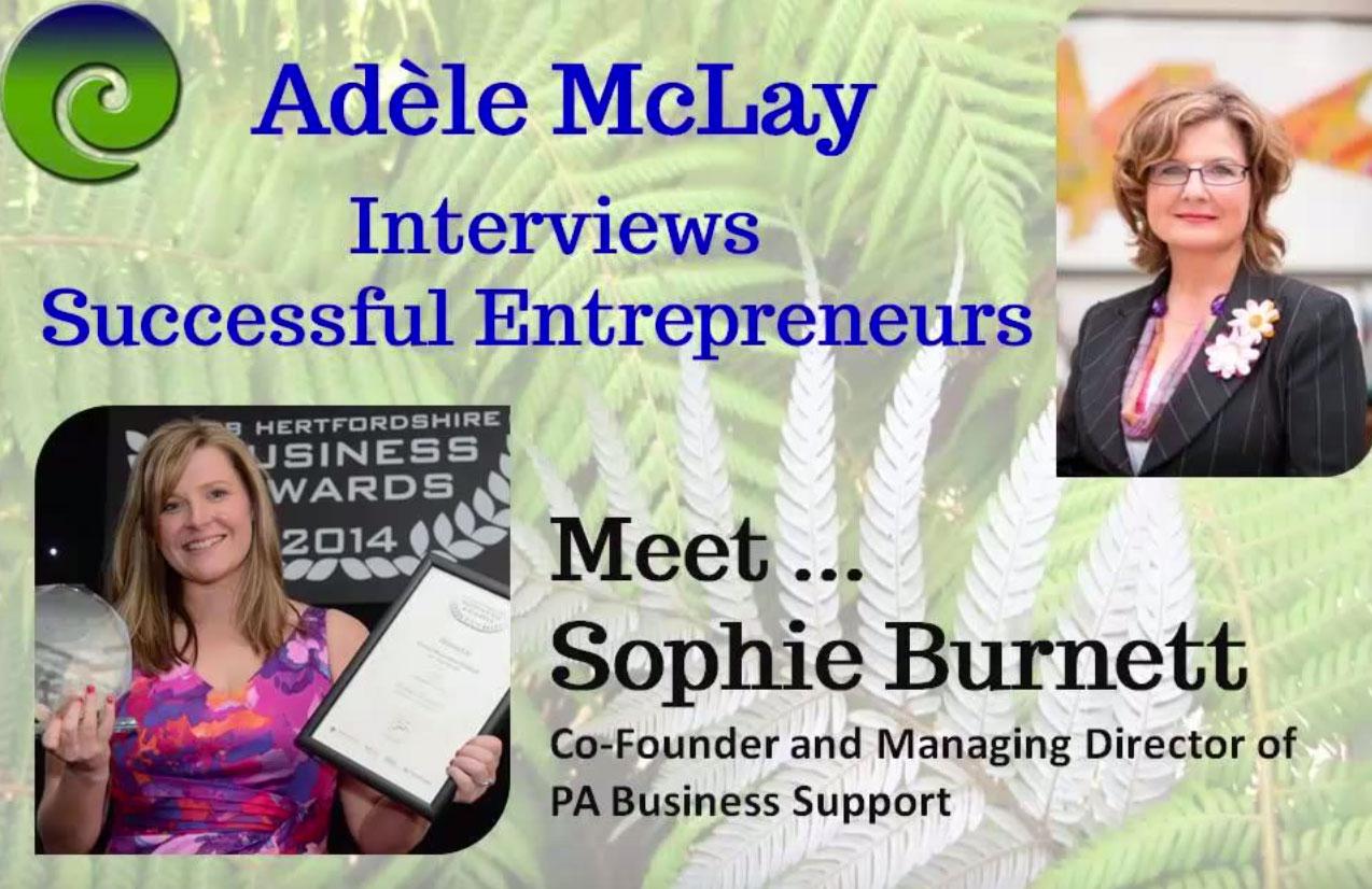 Sophie Burnett Interview
