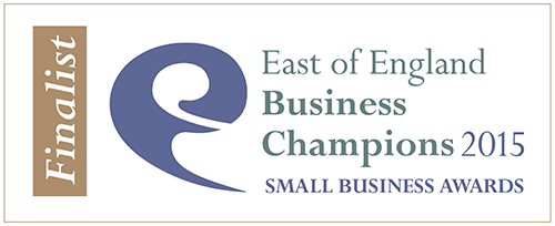 Finalist - East of England Business Champions 2015